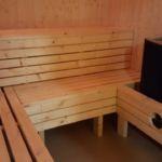Sauna inni