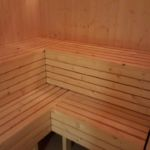 Sauna legubekkir