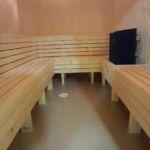Sauna að innan